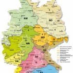 Karte der 22 Regionen für Gräser und Kräuter